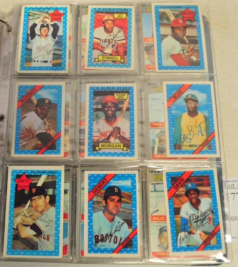 245 1970's/80's Baseball Cards - 3