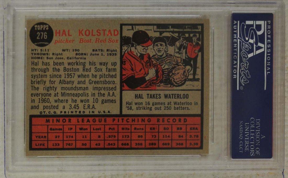 13 1962 Topps Baseball Cards PSA Graded 8/8.5 - 10