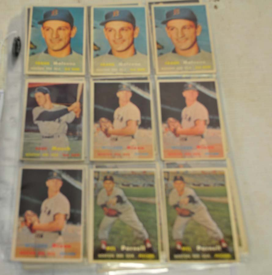 61 1957 Topps Red Sox Baseball Cards