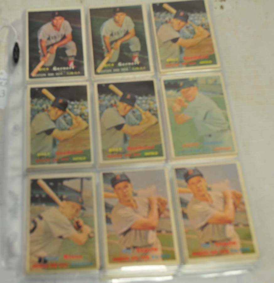 61 1957 Topps Red Sox Baseball Cards - 2