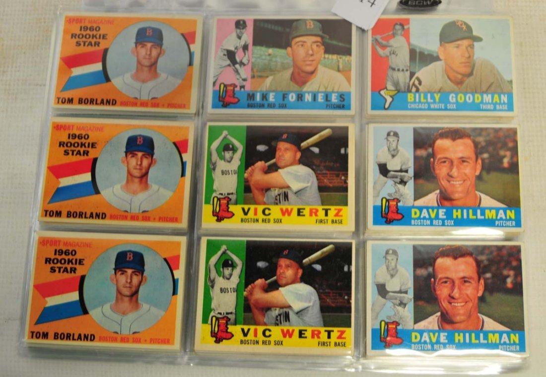 97 1960 Topps Baseball cards - 2