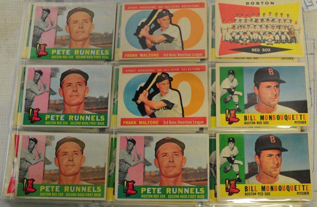 97 1960 Topps Baseball cards - 4