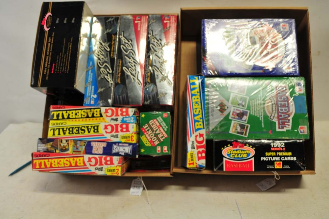 Two Boxes of Unopened Sets/Wax Boxes