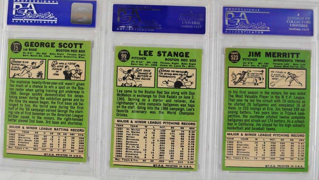 16 1967 Topps Baseball Cards PSA Graded 8 - 6