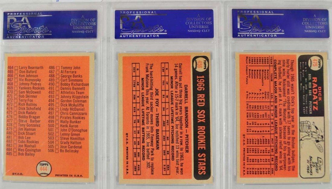 14 1966 Topps Baseball Cards PSA Graded 8 - 4