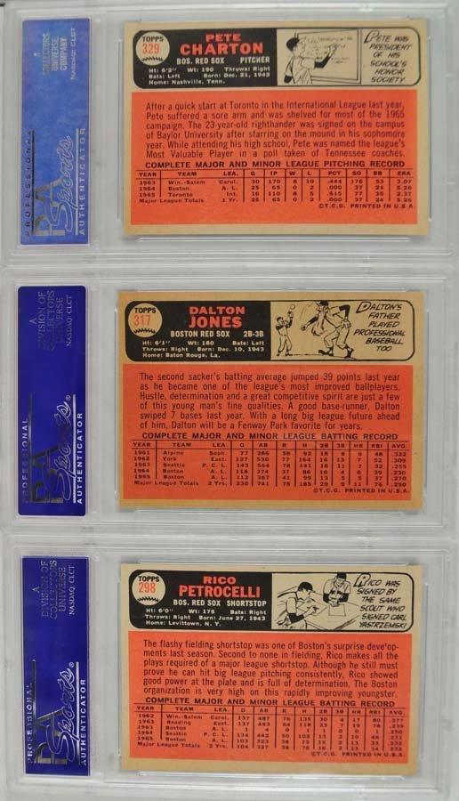 21 1966 Topps baseball cards PSA Graded 8 - 4