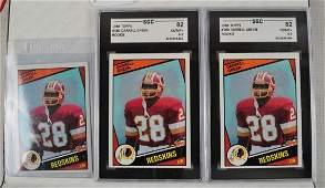 27 1984 Washington Redskin Rookie Cards