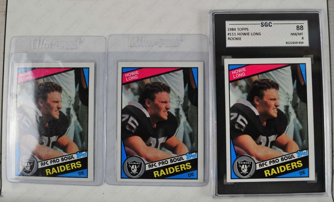 14 Howie Long Rookie Cards