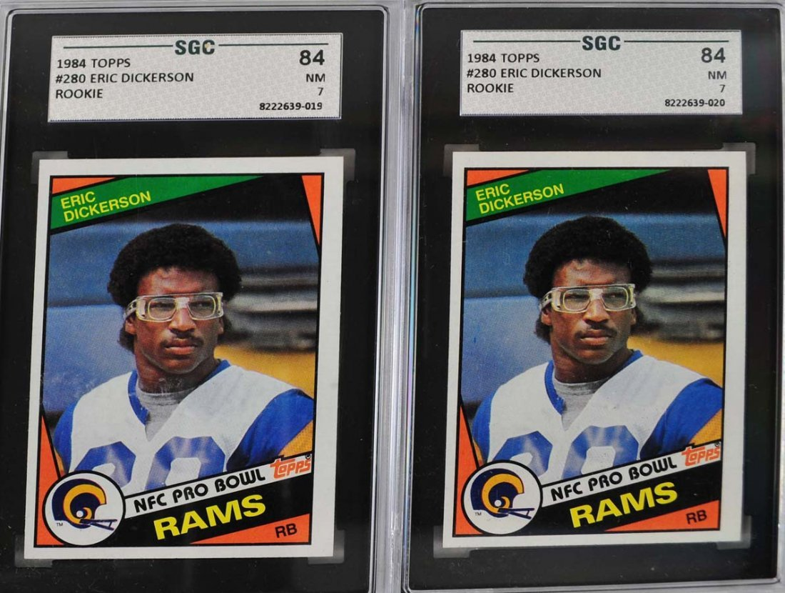 21 1984 Topps LA Rams Rookie Cards