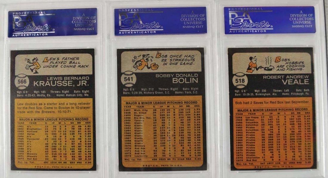 18 1973 Topps Baseball Cards PSA 8 - 2