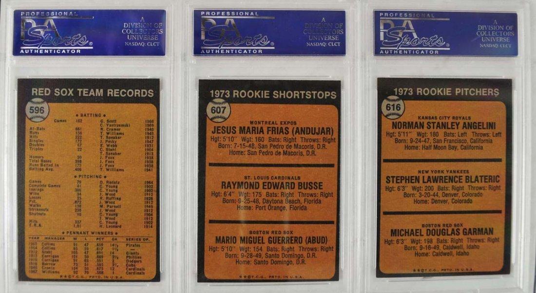 18 1973 Topps Baseball Cards PSA 8 - 4