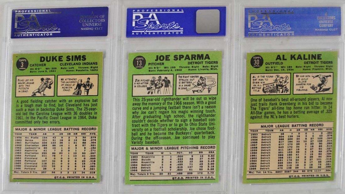 7 1967 Topps Baseball Cards PSA Graded 8 - 2