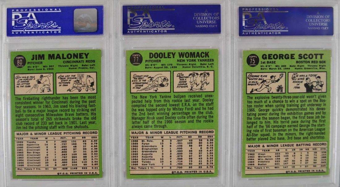 20 1967 Topps Baseball Cards PSA Graded 8 - 10