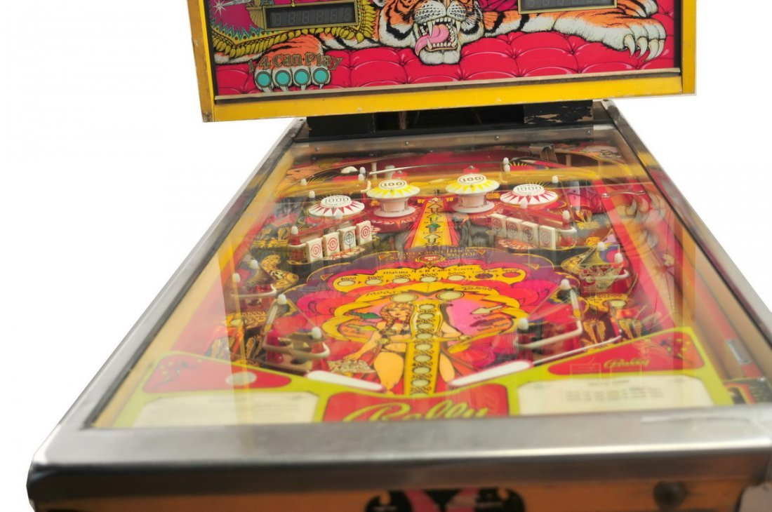 Bally Mata  Hari Pinball Game 1978 - 4