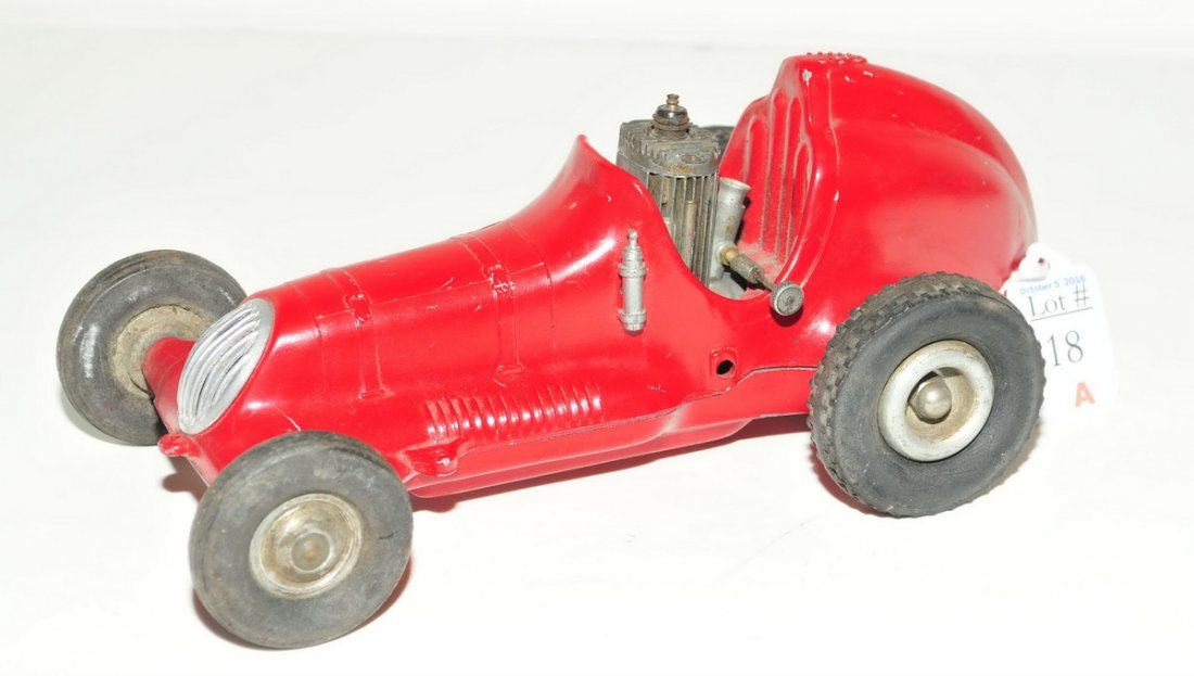 Roy Cox Thimble Drome Champion Tether Car red