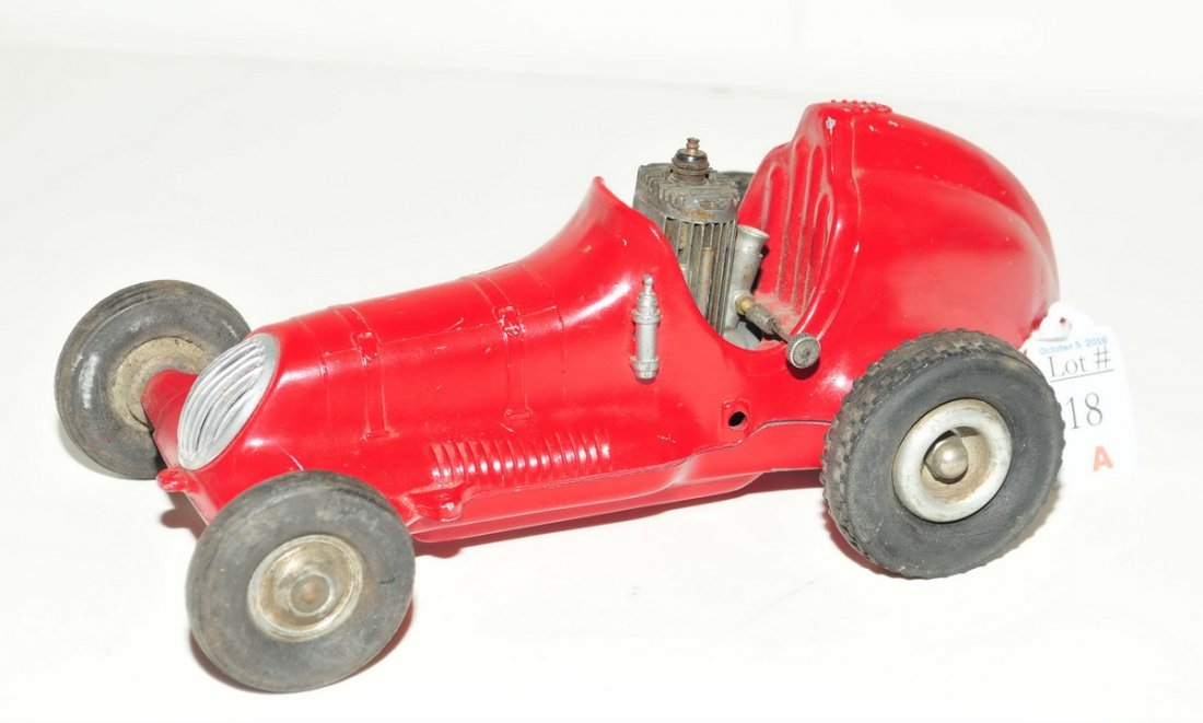 Roy Cox Thimble Drome Champion Tether Car red - 2