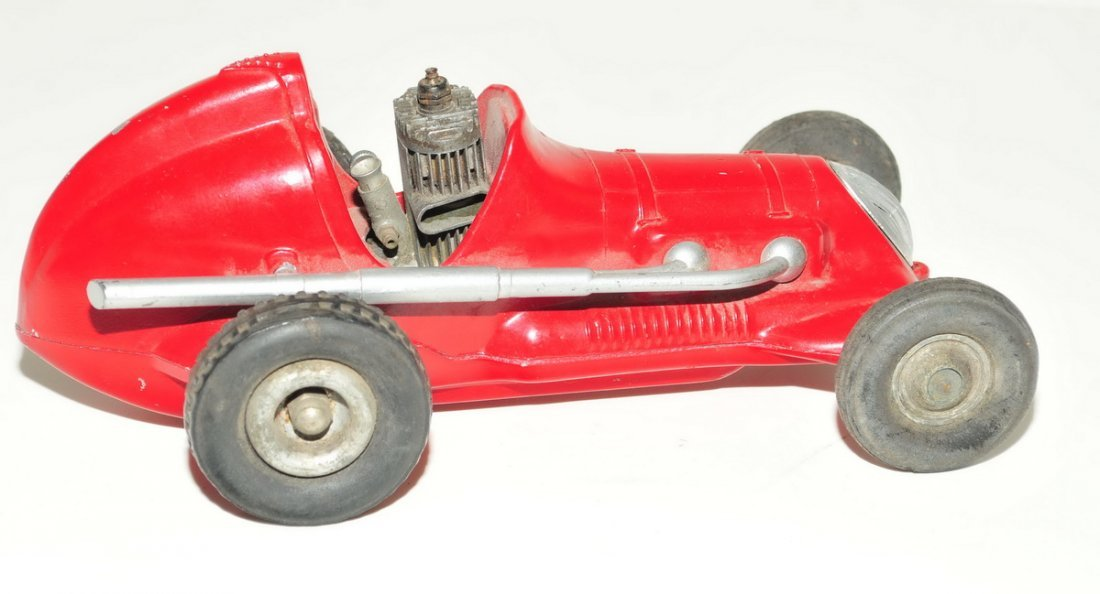 Roy Cox Thimble Drome Champion Tether Car red - 3