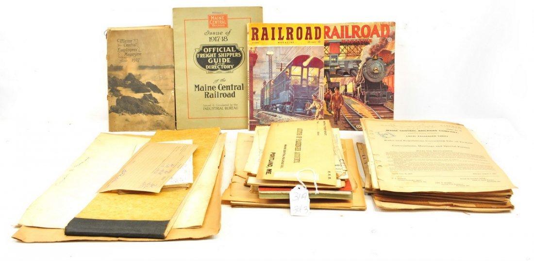 Three Boxes of Railroad Ephemera - 2