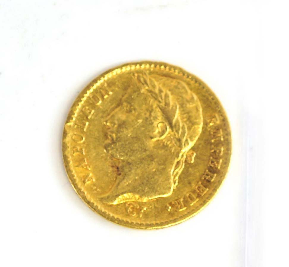 1811-A France 20 Francs Gold Coin