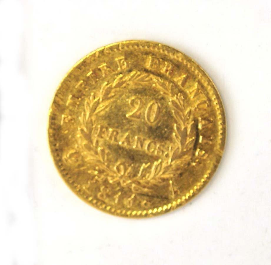 1811-A France 20 Francs Gold Coin - 2
