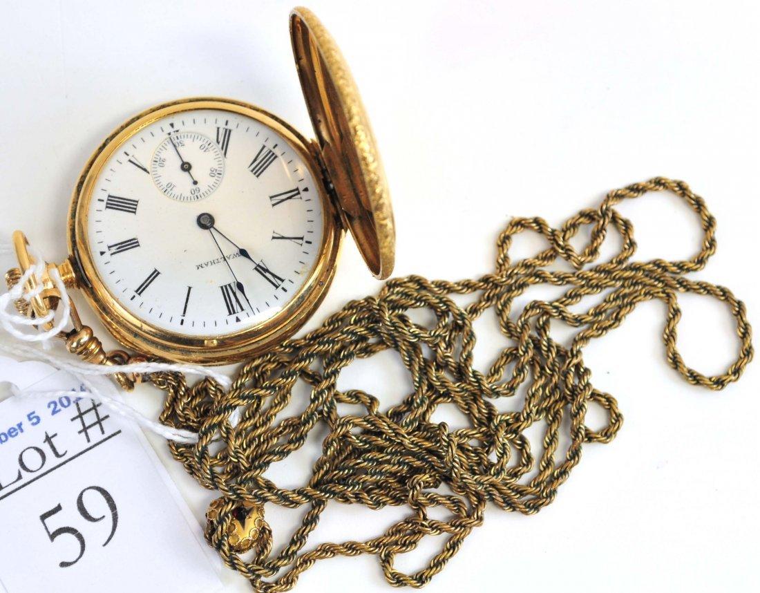 14Kt. Waltham Pocket Watch