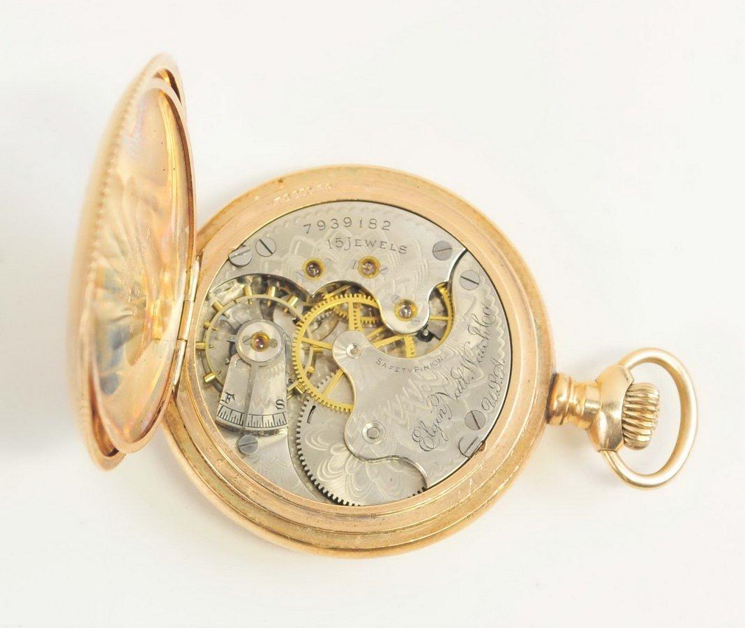 Six Antique Pocket Watches - 5