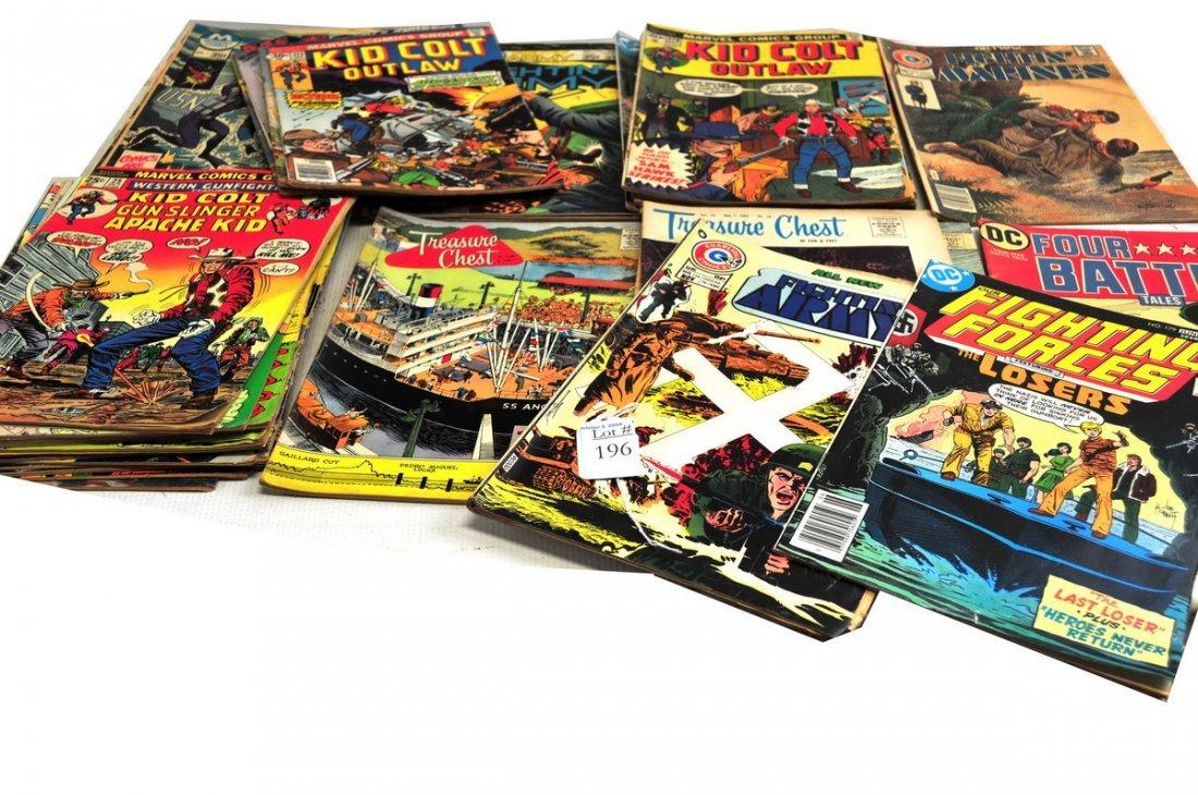 Over 40 Vintage Comic Books