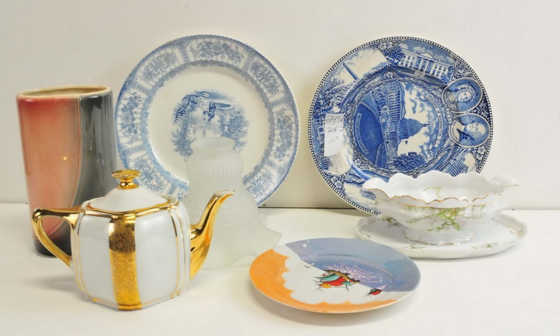 Two Boxes of Estate China/Glassware