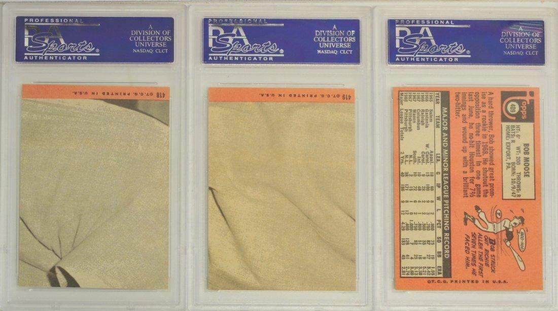 15 1969 Topps PSA Graded NM-MT 8