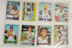 8 1967 Topps Baseball Hall Of Famers