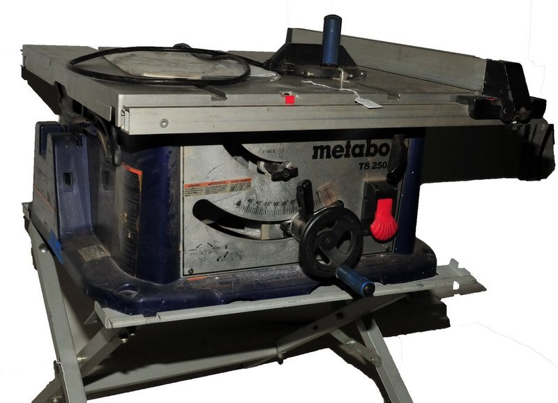 Metabo Table Saw TS-250 working Condition with Manual