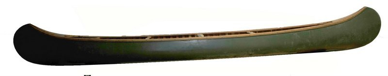 Old Town Charles River Canoe Maine Canvas Ribbed 17' FT