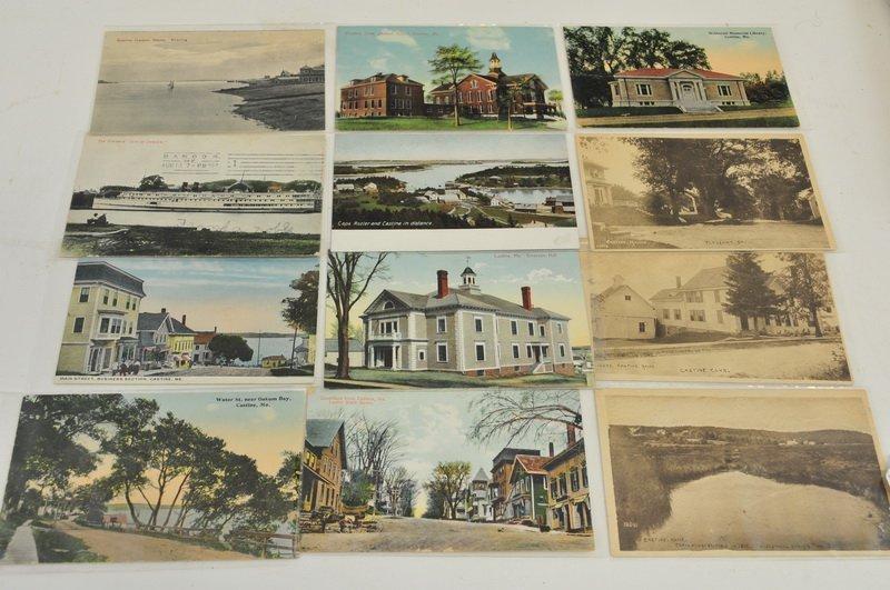 12 Castine/Downeast Maine Postcards