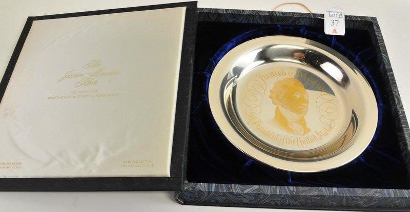2- Franklin Mint Presidential Sterling & 24K Plate - 3