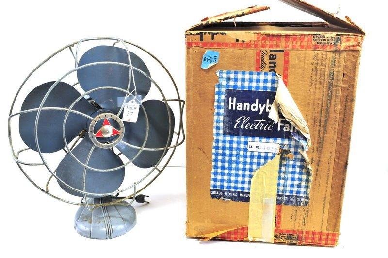Vintage Handy Breeze Fan in original Box