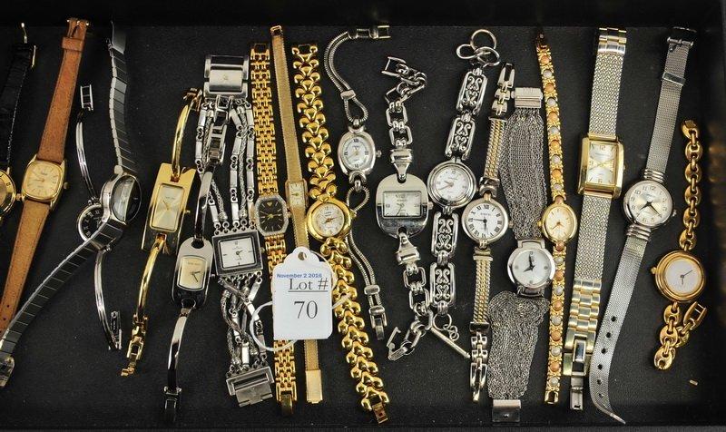 19 Ladies Designer Watches/Gruen