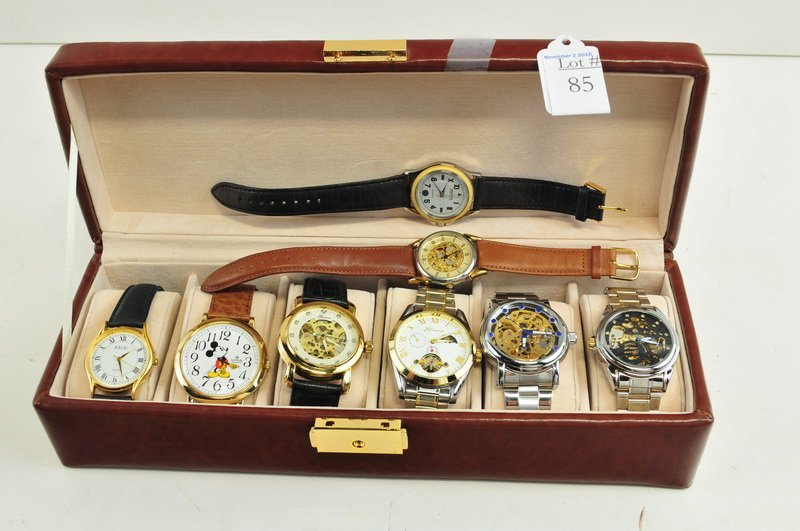 8 Men's Designer Watches New Stock