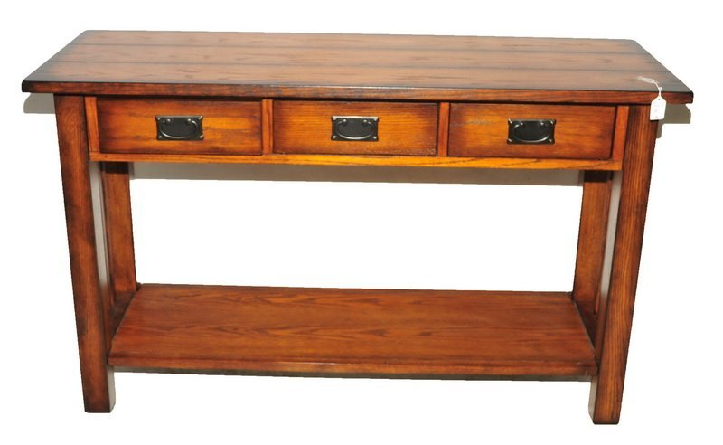 Sofa Table with 3 draws