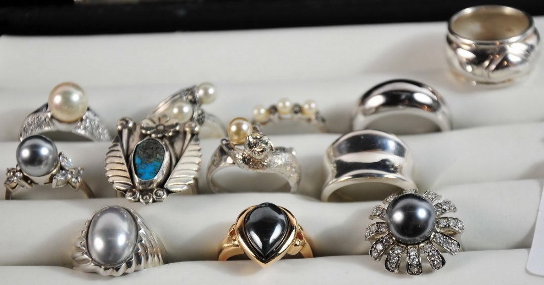 Costume Jewelry with Sterling Silver
