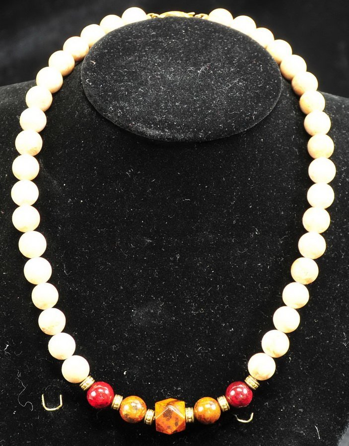 Costume Jewelry with Sterling Silver - 7