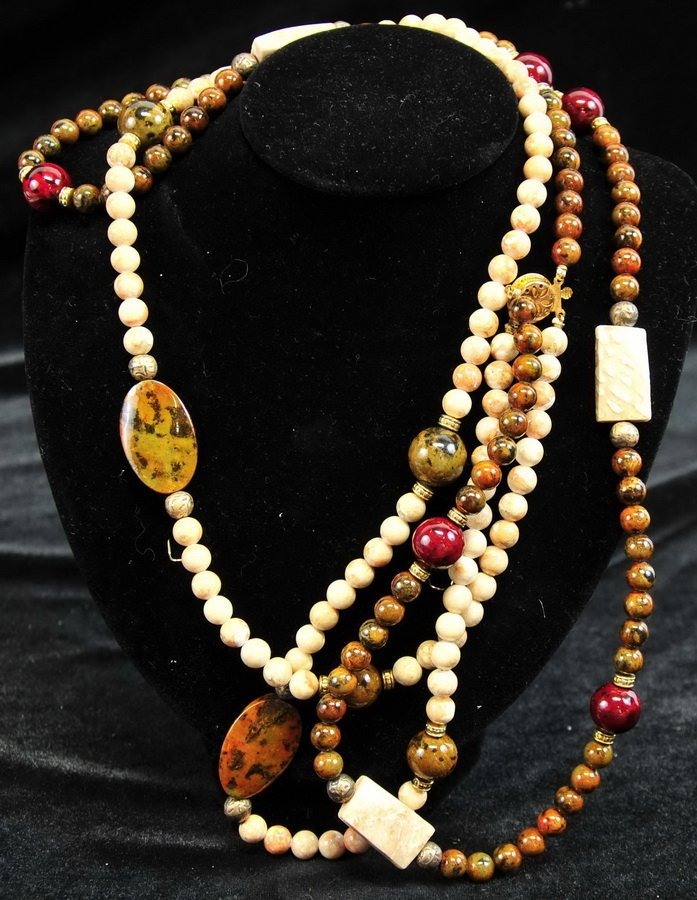 Costume Jewelry with Sterling Silver - 8