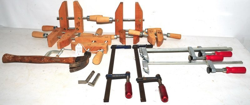 Vintage Furniture Clamps and C Clamps
