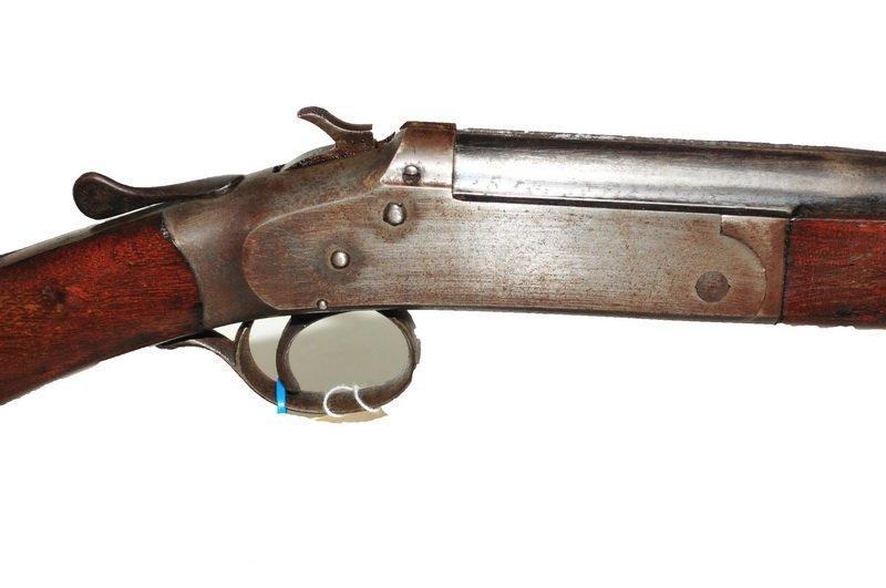 Iver Johnson Model 39 44 Caliber Rifle - 2