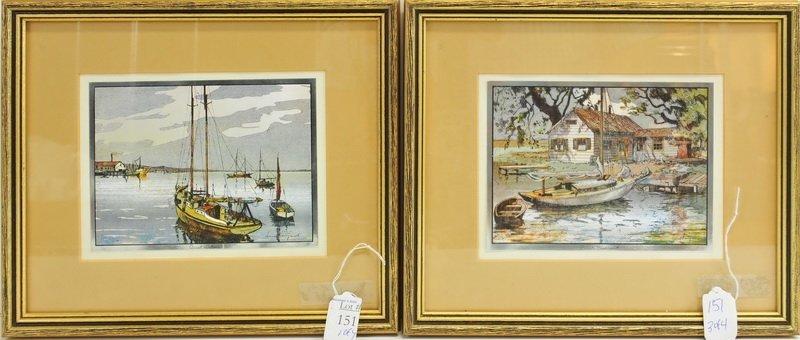Four Lionel Barrymore Framed  Chrome Prints - 2