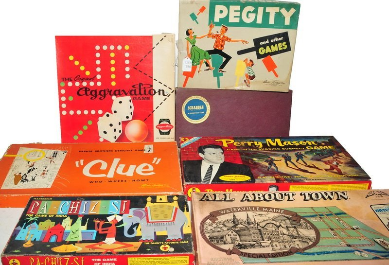 Eighteen Vintage games