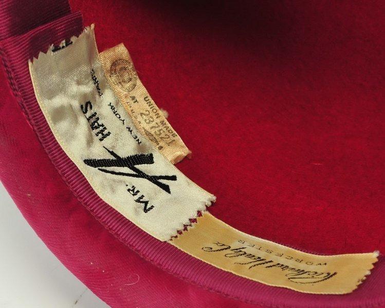 William Harris Fur Coat and Peacock Adorned Hat - 3
