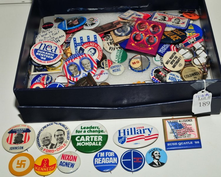 Over One Hundred Pins