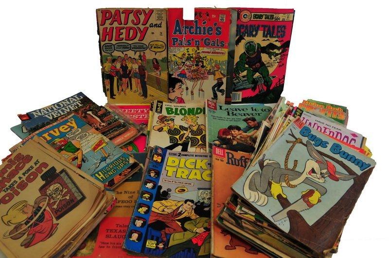 Over Seventy Five comic books