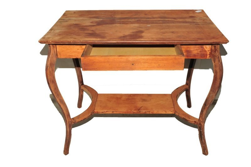 One Mahogany Table