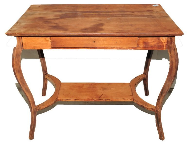 One Mahogany Table - 2
